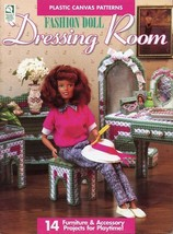 Dressing Room Fashion Doll Plastic Canvas Pattern- 30 Days to Shop & Pay! - $7.17