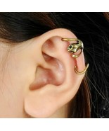 Rock Punk Vintage Bronze Gecko Ear Cuff - $4.99