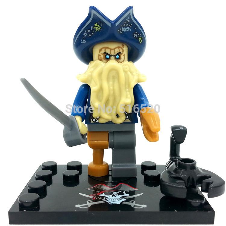 Toy Pirate Lego : Pcs davy jones pirates of the caribbean minifigures toys