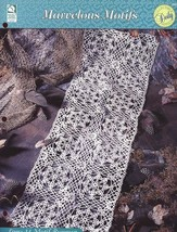 Lacy 14 Motif Runner Doily Crochet Pattern HOWB - 30 Days To Shop & Pay! - $1.77