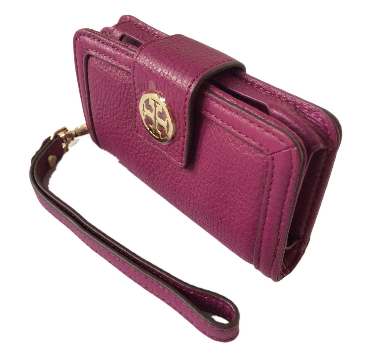 82c7ff176c33 Tory Burch Amanda Smart Phone Wallet in Fuchsia Leather (FOR iPhone 4)