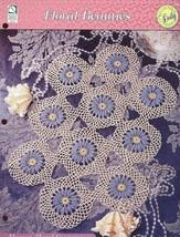 Elegant Floral Centerpiece Doily Crochet Pattern HOWB - 30 Days To Shop & Pay! - $1.77