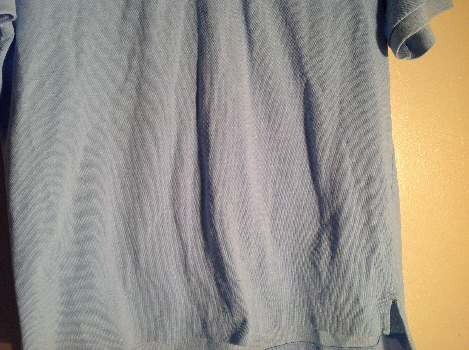 Brooks Brother pale blue polo tee