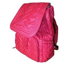 Vera Bradley Puffy Backpack in Fuchsia Pink Nylon - $84.95