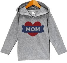 Custom Party Shop Baby Boy's Mom Mother's Day Hoodie Pullover 12 Months Grey ... - $22.05