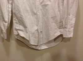 Great Condition Ralph Lauren 100% Cotton White Collared Button Up image 3