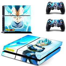 Dragon Ball Super Vegeta Super Saiyan God Blue Skin Decal for PS4 - $19.99