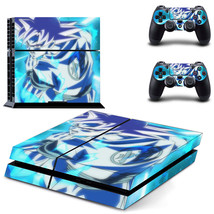 Blue Goku Kamehameha HD Cool PS4 Console Controllers Skin Decal - $19.99
