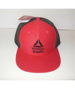 Reebok new CrossFit Snapback Lifestyle Cap Red Hat NWT Unisex OSFM One Size - $29.00