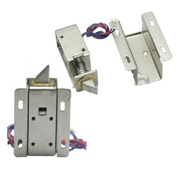Dc 12v latch electric drawer deadbolt cabinet fail secure for 12v door latch