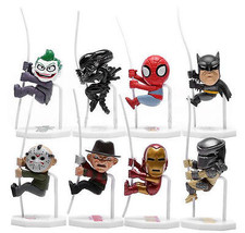 Spiderman Batman Iron Man Joker Freddy Jason Al... - $20.85