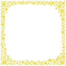 Yellow Snowflake Stationery Printer Paper 26 Sheets - $9.89