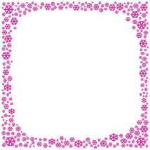 Pink Snowflake Stationery Printer Paper 26 Sheets - $9.89