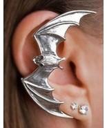 Vintage Rock Punk Flying Bat Alloy Ear Cuff(Color:Silver ) - $4.99