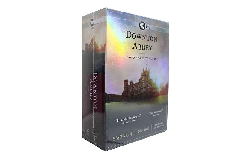 Downton Abbey The Complete Series Seasons 1-6 DVD Box Set 22 Disc Free Shipping