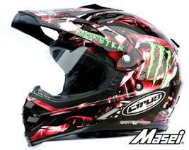 Masei Cirus 308 Motocross ATV Helmet image 1
