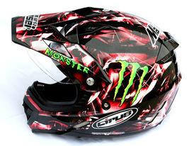 Masei Cirus 308 Motocross ATV Helmet image 4