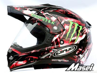 Masei Cirus 308 Motocross ATV Helmet image 2