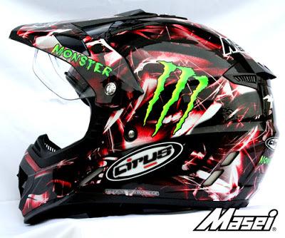 Masei Cirus 308 Motocross ATV Helmet image 3