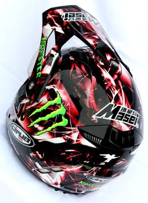 Masei Cirus 308 Motocross ATV Helmet image 6