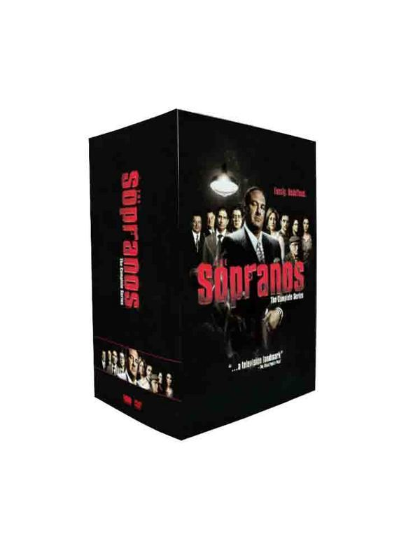 The Sopranos The Complete Series Seasons 1-6 DVD Box Set 30 Disc Free Shipping