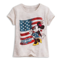 "Disney Store Minnie Mouse ""American Original"" Short Sleeve Tee T-Shirt f... - $15.00"