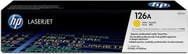 HP 126A Yellow Original LaserJet Toner Cartridge, CE312A - $39.99