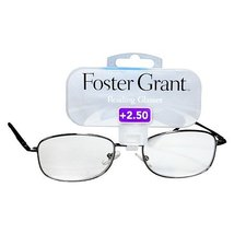 Foster Grant SPENCER GUN Men's Reading Glasses +2.50 - $19.99
