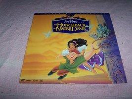 "Walt Disney's ""The Hunchback of Notre Dame"" Widescreen Laserdisc [Laser Disc]... - $6.99"