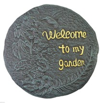 Welcome To My Garden Hummingbird Stepping Stone... - $22.49