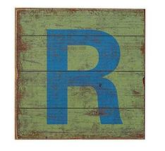 PANDA SUPERSTORE Vintage American Country Alphabet Letters Mural Decorations, Le