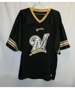Milwaukee Brewers Jersey w/ Wing Type Sleeves Adult Size XL - $19.79