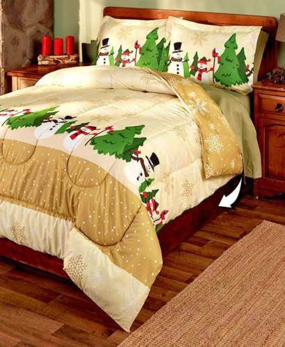 Comforter Set Queen Clearance Snowflake 3pc Bedding ...