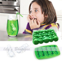 Safe Worm Shape Ice Cream Freeze Cube Tray Mold Mould f. Party Club Cock... - £1.80 GBP