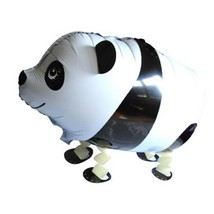 Practical Cute Cartoon Panda Walking Balloon Party Decor Inflatable Foil... - $1.41