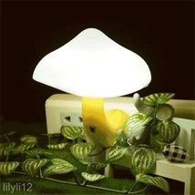 Romantic Wireless Remote Control Mushroom Night Light Home Decor Lamp US... - $11.57