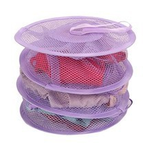 3 Shelf Hanging Storage Net Kids Toys Socks Bed... - $2.73