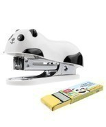 Home School Office Desk Mini Cartoon Panda Stapler + Free 1000Pcs Staple... - €1,94 EUR