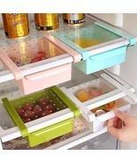 Home Kitchen Fridge Freezer Space Saver Rack Shelf Holder Organizer Stor... - $4.29
