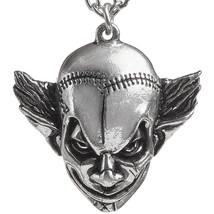 Alchemy Gothic M'era Luna Evil Clown English Pewter 21in Pendant Necklace - $17.75