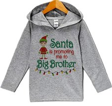 Custom Party Shop Baby's Big Brother Christmas Hoodie 3T - $22.05