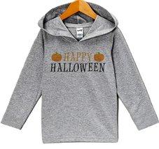 Custom Party Shop Baby Happy Halloween Hoodie 12 Months Grey - $22.05