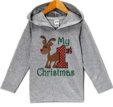 Custom Party Shop Baby's 1st Christmas Hoodie 24 Months Months - $22.05