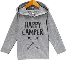 Custom Party Shop Kids Happy Camper Outdoors Hoodie 12 Months - $22.05