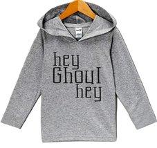 Custom Party Shop Hey Ghoul Hey Halloween Hoodie 3T Grey - $22.05