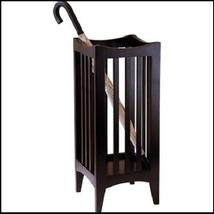 Umbrella Stand Wood Stick Holder Storage Unit Rack Entryway Hallway Furniture  - $48.88