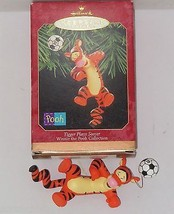 Disney Tigger Ornament Plays Soccer Hallmark Keepsake Christmas  1999 NI... - $29.95