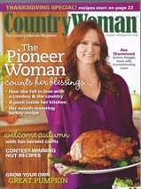 Country Woman Magazine October/November 2011;Harvest Crafts;Pumpkin;Than... - $4.97