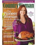 Country Woman Magazine October/November 2011;Harvest Crafts;Pumpkin;Than... - $4.97