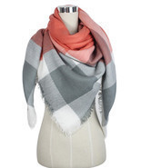 US SELL Women Blanket Oversized Tartan Scarf Wrap Shawl Pashmina Stole -... - €7,96 EUR